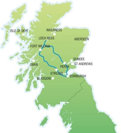 Loch Ness, Glencoe & the Scottish Highlands – Day Tour
